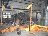 Самосвальный трёхосный тракторный прицеп грузоподъёмностью 23 тонны 3ППНТС-23
