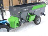 Машина для внесения твердых органических удобрений МТУ-18 БобруйскАгроМаш